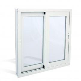 2 sheets sliding window