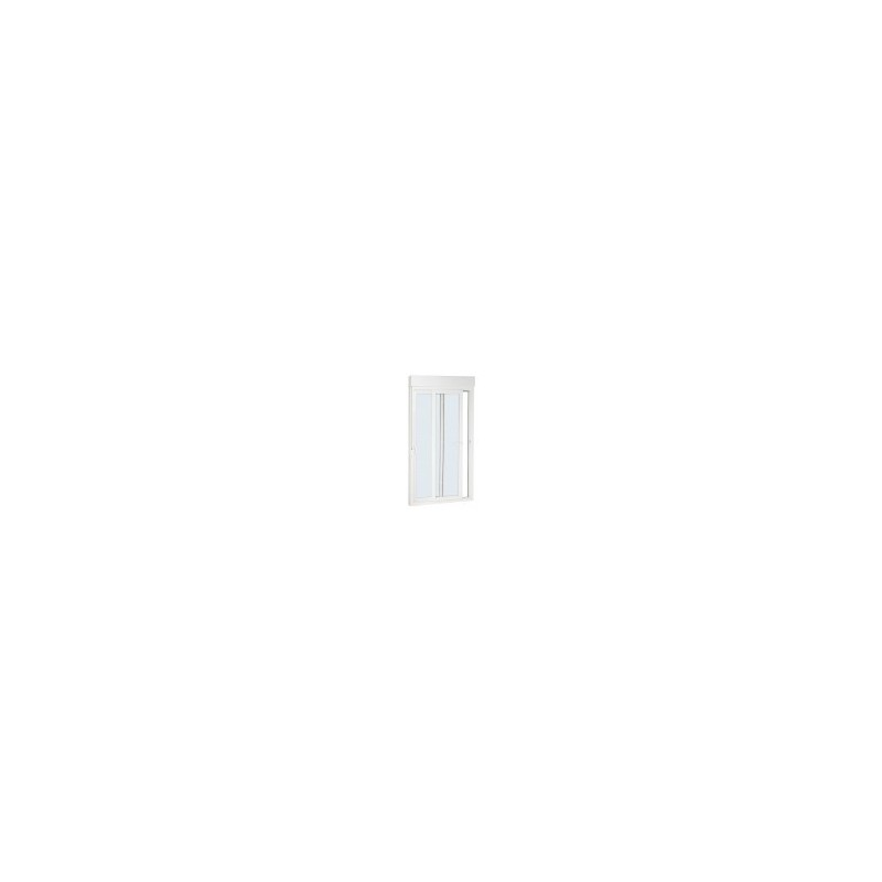Balconera corredera con persiana (224,5cm Alto X 152cm Ancho)